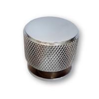 Ручка мебельная ROLLER Берфино кнопка d=34 мм хром