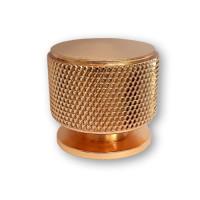 Ручка мебельная ROLLER Берфино кнопка d=34 мм  золото